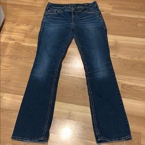 "Silver ""Suki"" slim boot jeans size 31X33"